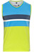 Chillaz Ardeche Tanky Stripes Men lime green multicolor